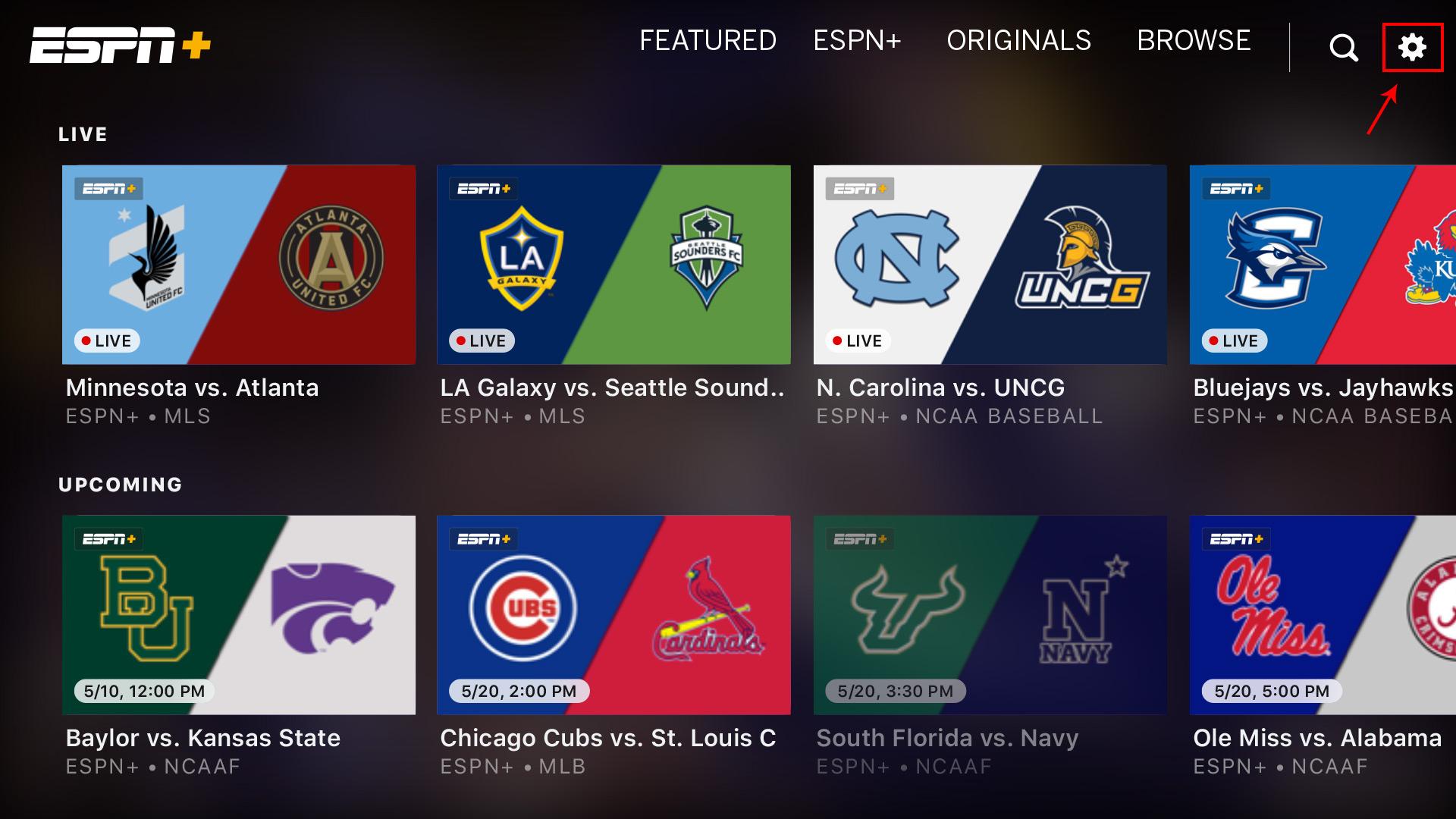 Fire TV & Fire Tablet – ESPN+