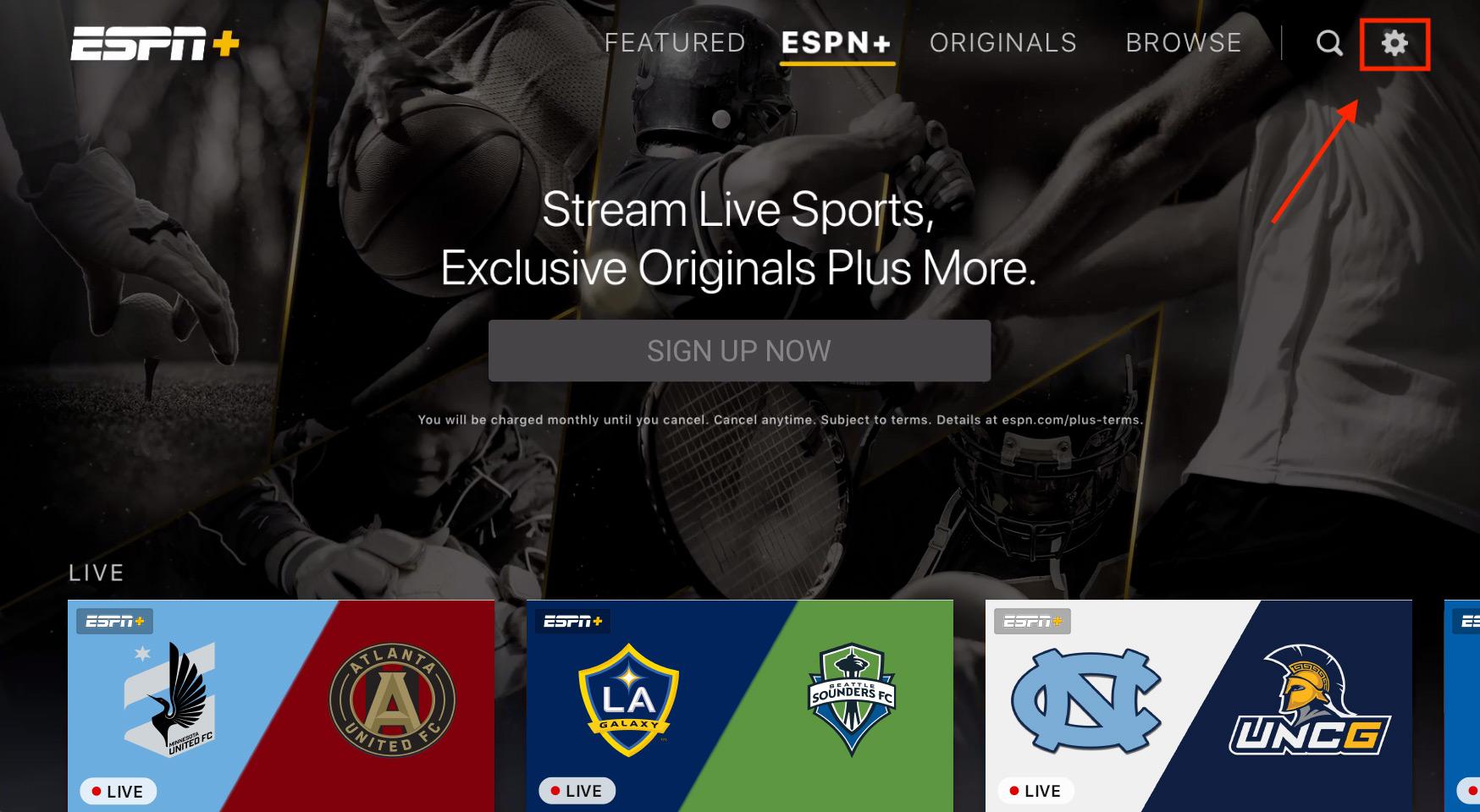 Apple tvOS: Subscription Linking – ESPN+